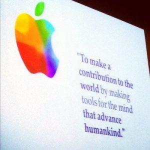 l'arte della persuasione di Apple